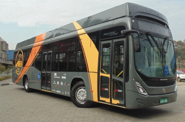 Electric Bus in 2016